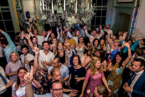 familie vrienden bruiloft