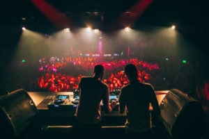 Club DJs in Melkweg