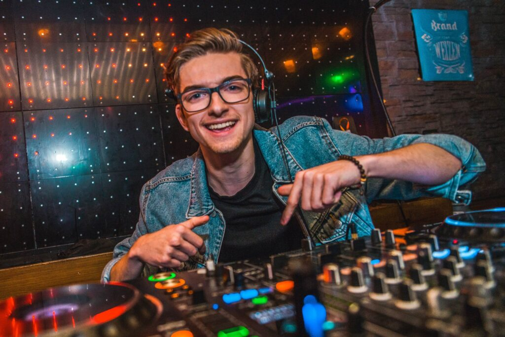 DJ Jochem Boeken bij B-BE